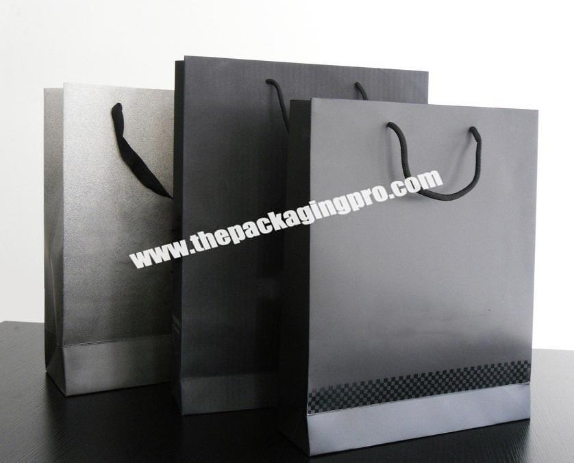 Wholesale Customized Luxury Cardboard Rigid Rectangle Gift Packaging Paper Bag