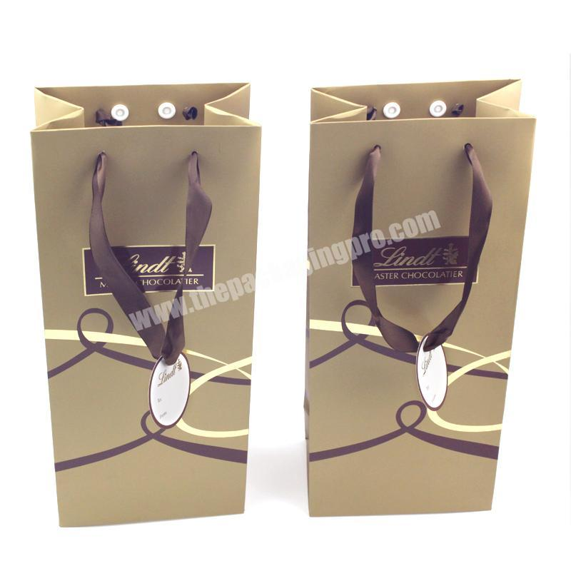 Wholesale Eco Friendly Popular Luxurious Custom Gift Shipping Paper Packing Bags