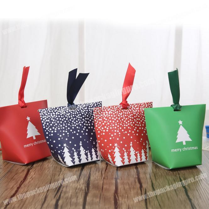 Wholesale gift packaging bagbox for Christmas