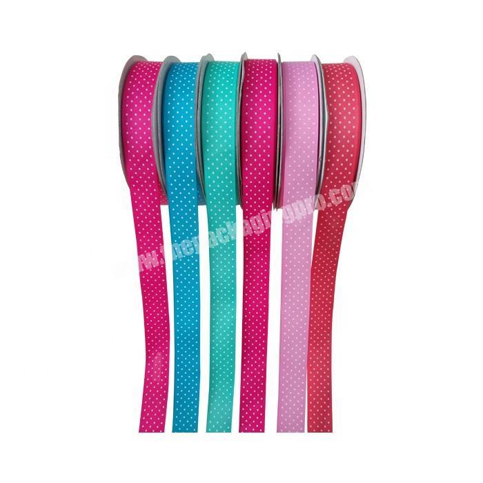 Wholesale gift packing color 1cm velvet ribbon