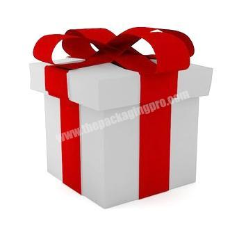 Wholesale gift paper christmas box with lids