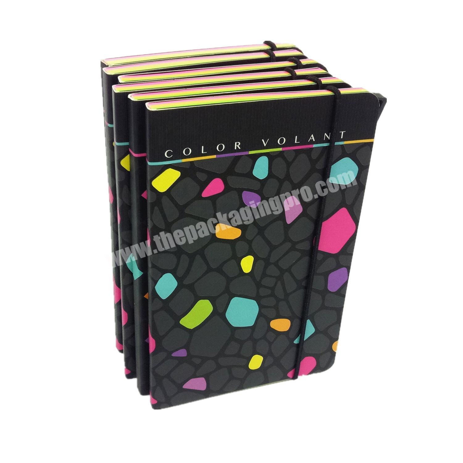 Wholesale handmade school diary designed cover journal to do list planner paper notebook