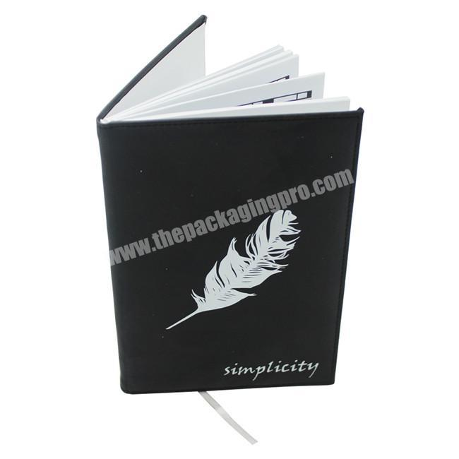 Wholesale Hardcover Notebooks A4 A5 Genuine Leather Journal Manufactures