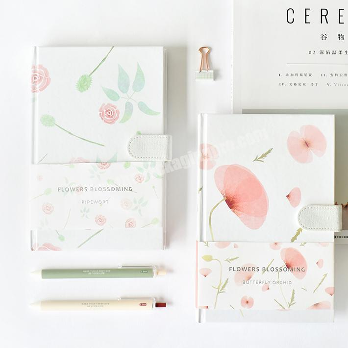 Wholesale Office Stationary Hardcover Notebooks With Magnetic Closure
