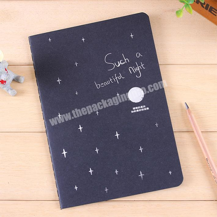 Wholesale Wholesale office stationery writing plain custom softcover notebook