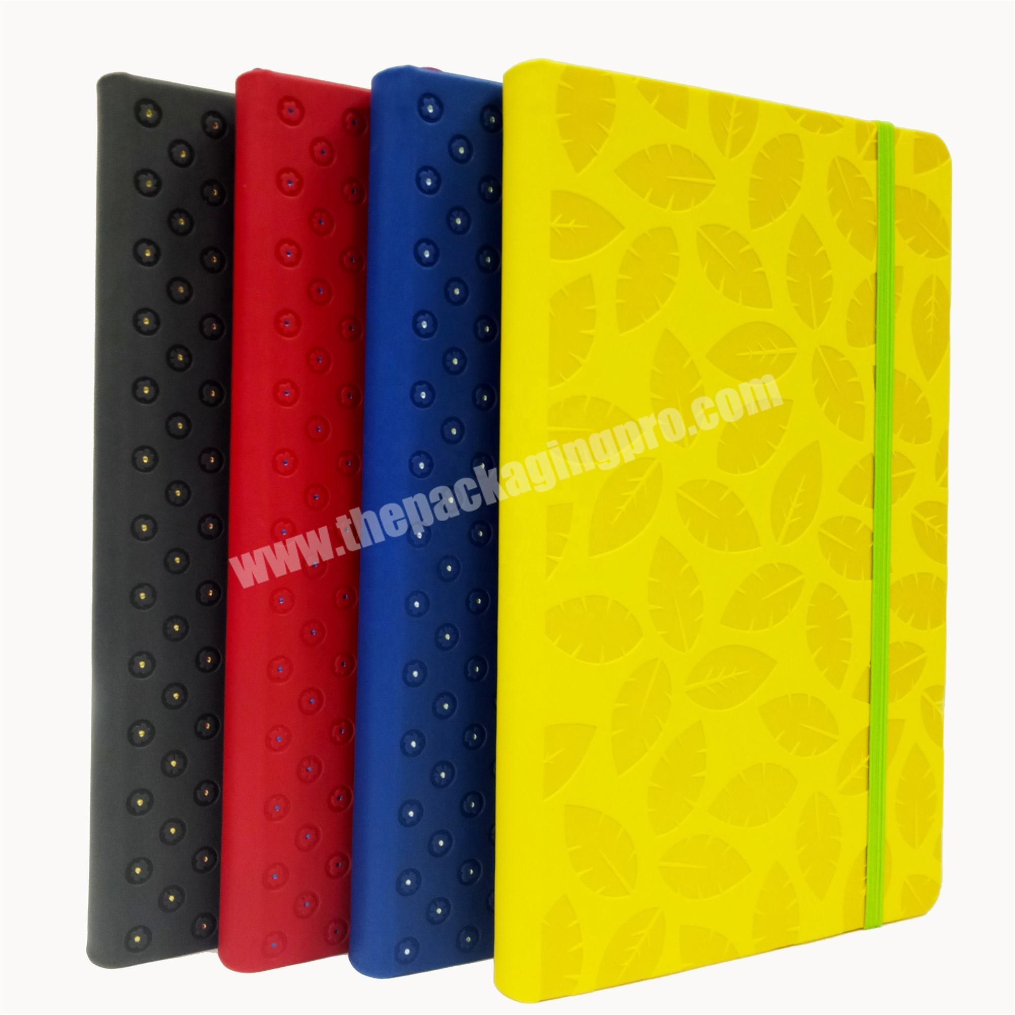 Wholesale personal diary writing notebook leather cover journal lifestyle planner