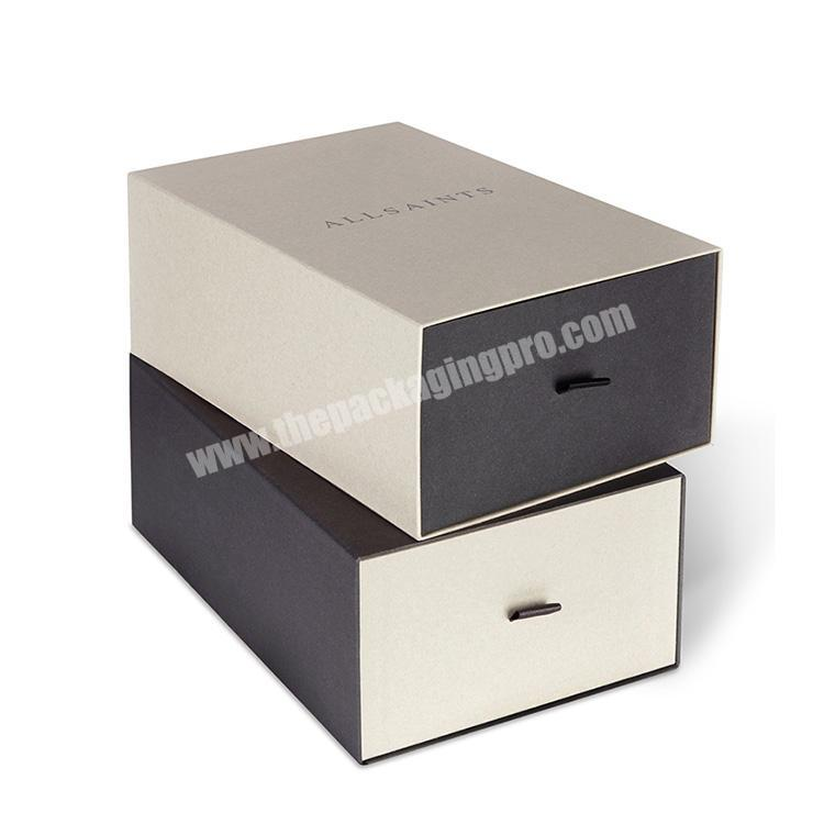Wholesale promotion custom high quality retail cardboard box