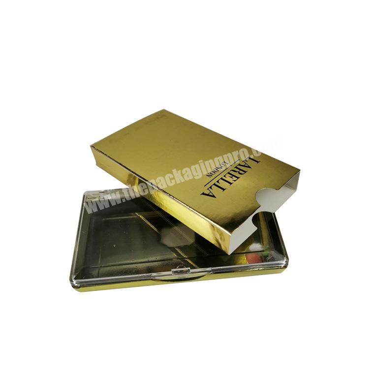 Wholesale Recyclable Cheap Price Free Samples Glossy Lamination Jewelry Custom Boxes With Hot Stamping Logo Printed
