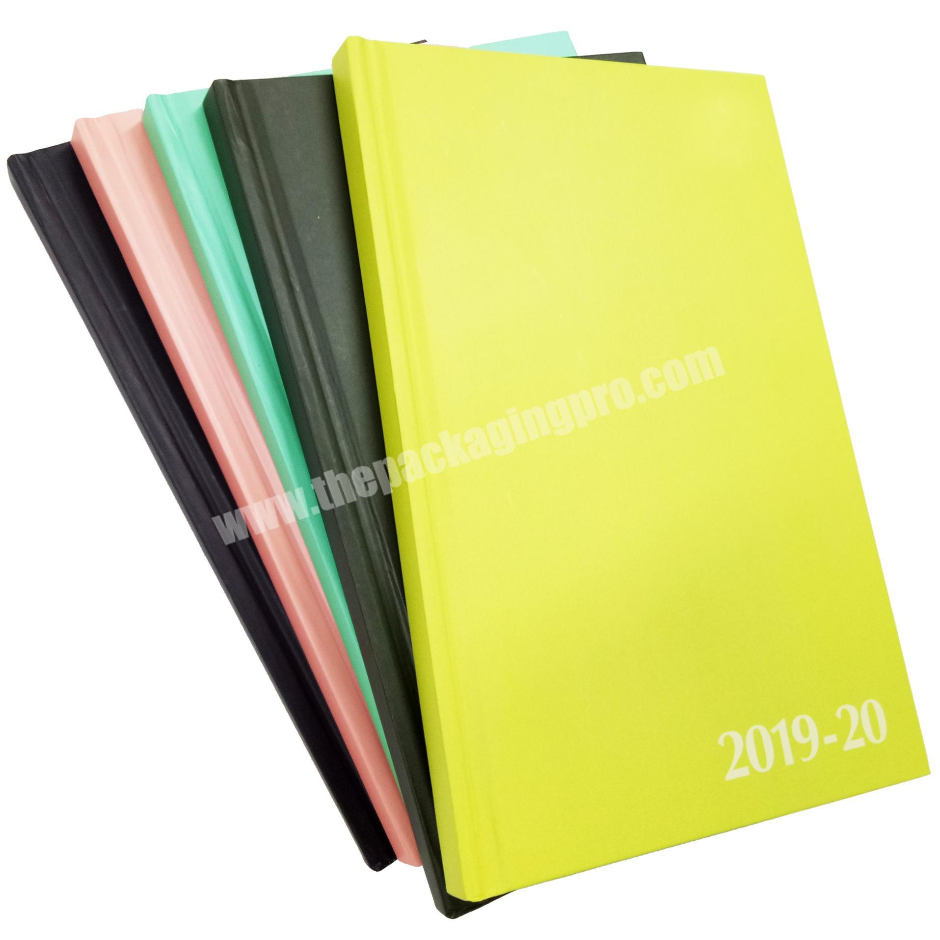Wholesale School  Exercise Hardcover Diary Office Agenda Notebook