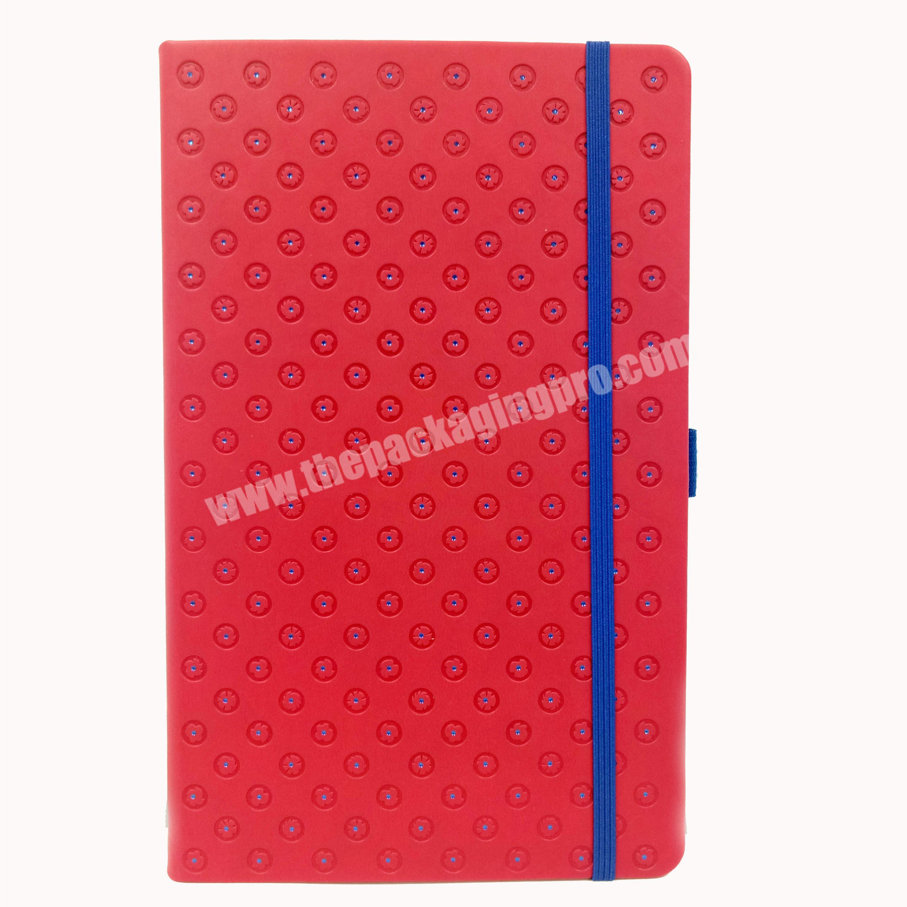 Wholesale school notebook pocket planner travel diary pu leather journal