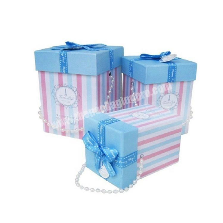 With a hand chain handmade gift hamper boxes wholesale design