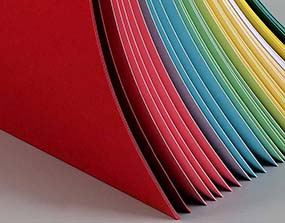 colorful paper board