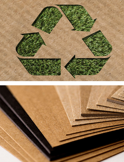 Eco Friendly Packaging Paper Board